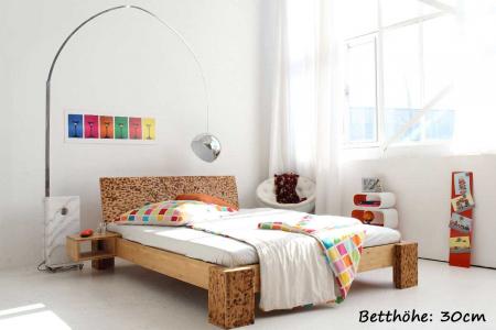 betten 140x220 cm aus bambus. Black Bedroom Furniture Sets. Home Design Ideas