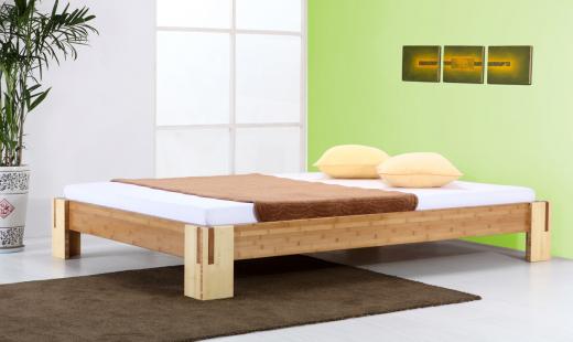 SUMBA Bambusbett ohne Rückenlehne 180x220cm