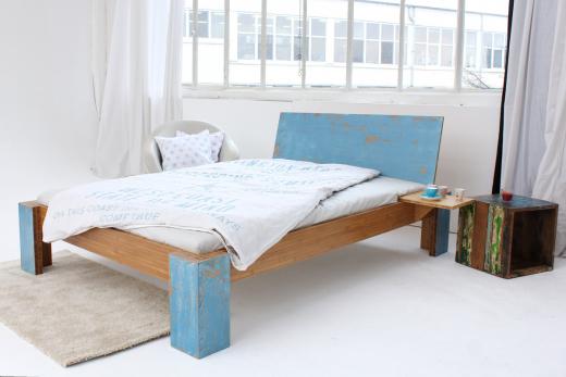ARUBA Bambusbett mit Rückenlehne Hainan 160x220cm