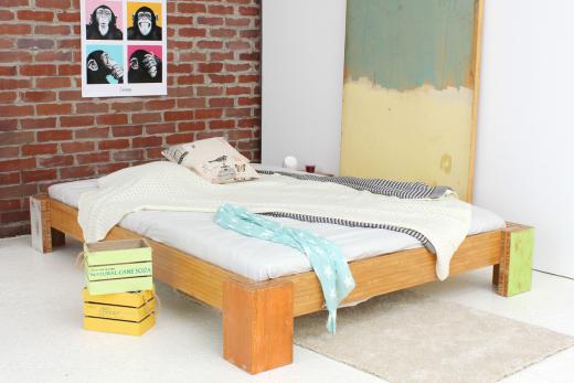 HAWAII Bambusbett ohne Rückenlehne 120x220cm