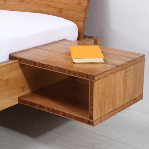 YANG Bambus Nachttisch braun passend zu Bett BALI, BURMA, HAVANNA, TIMOR uvm.!