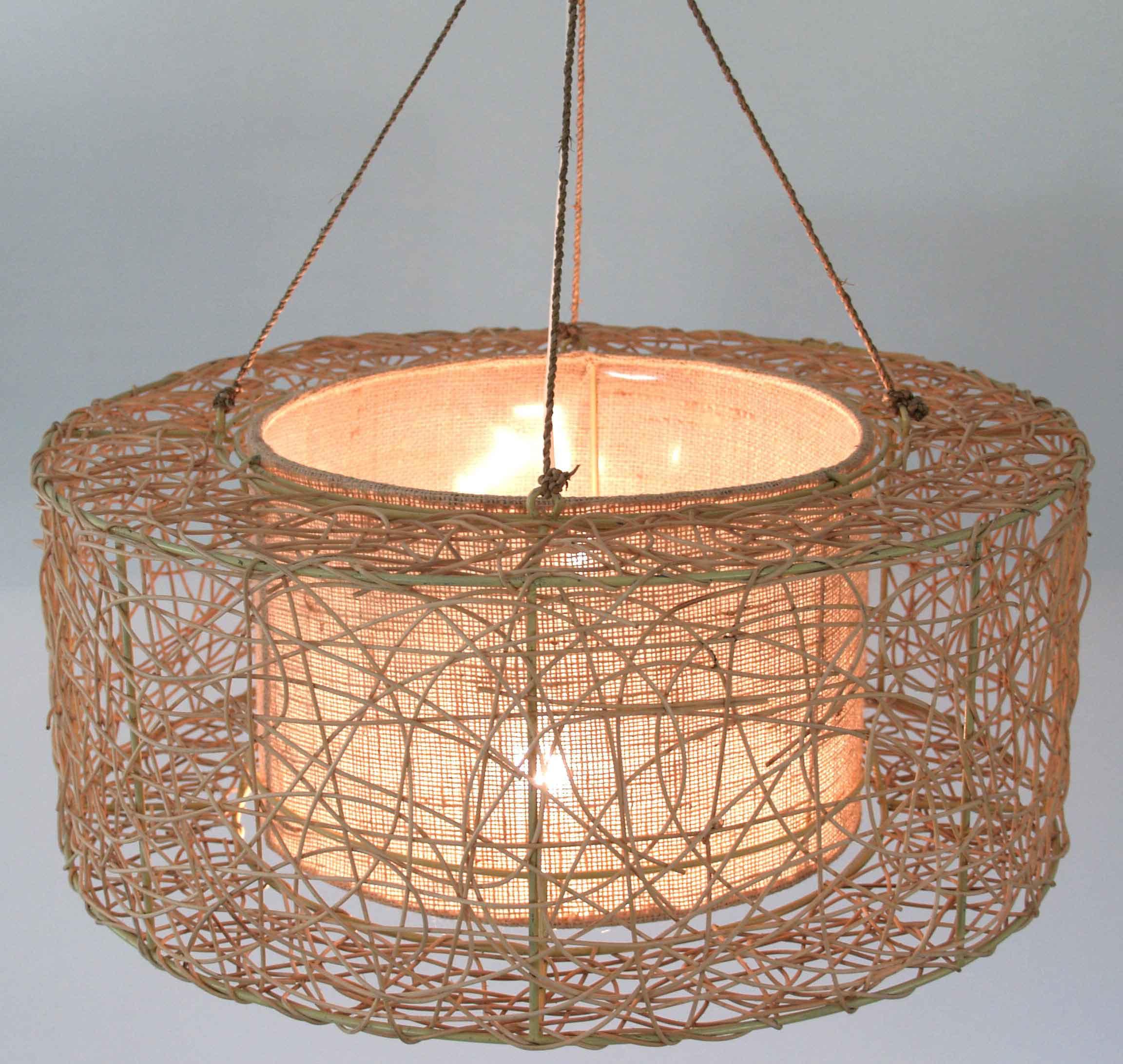 deckenlampe rattan glas pendelleuchte modern. Black Bedroom Furniture Sets. Home Design Ideas