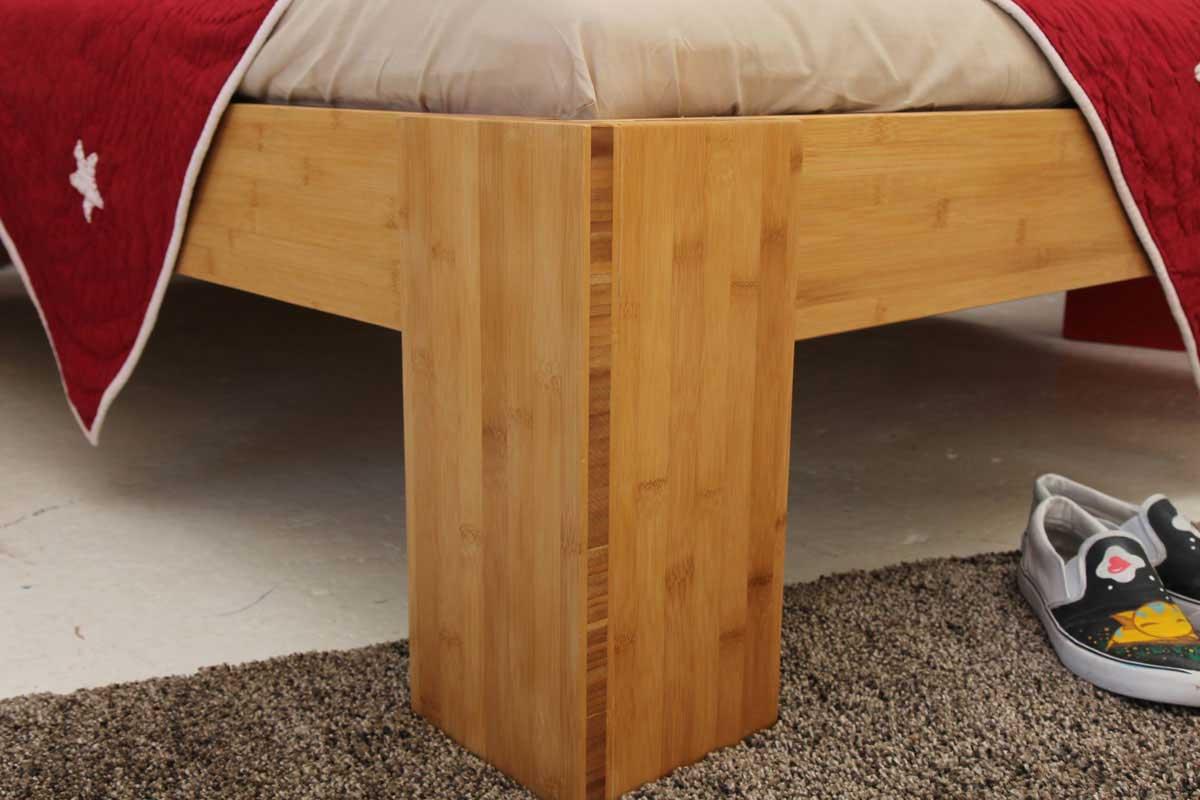 Bambusbett Burma Bett Aus Bambus 160x220cm
