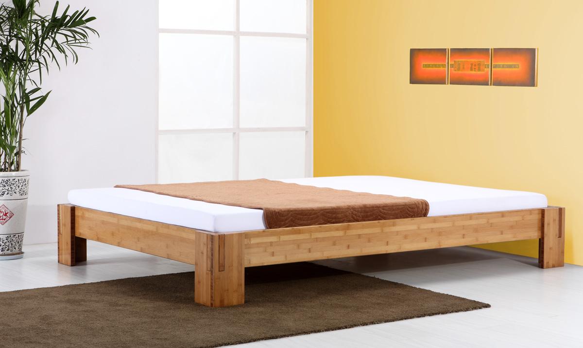 bambusbett bali bett aus bambus 200x200cm. Black Bedroom Furniture Sets. Home Design Ideas