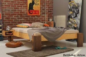 HAVANNA Bambusbett ohne Rückenlehne 160x200cm