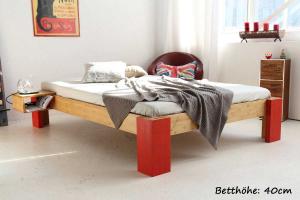 OSAKA Bambusbett ohne Rückenlehne 200x200cm