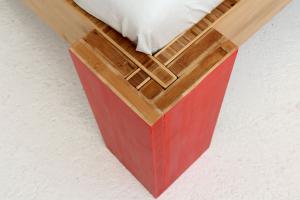 OSAKA Bambusbett ohne Rückenlehne 160x220cm