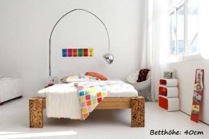 TIGON Bambusbett ohne Rückenlehne 180x220cm