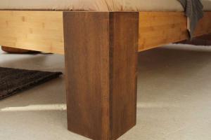 HAVANNA Bambusbett mit Rückenlehne Hainan 120x220cm