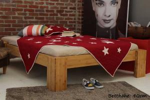 BURMA Bambusbett ohne Rückenlehne 120x220cm