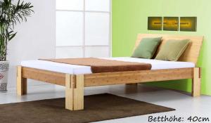 Sumba Bambusbett mit Rückenlehne Hainan 160x200cm