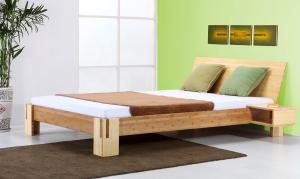 Sumba Bambusbett mit Rückenlehne Hainan 180x220cm