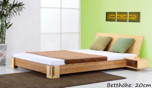 Sumba Bambusbett mit Rückenlehne Hainan 200x220cm