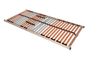 ANGEBOT Bambusbett SUVA 180x220cm mit Lattenrost und Matratze