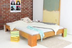 HAWAII Bambusbett ohne Rückenlehne 200x220cm