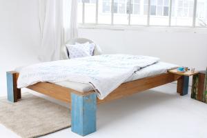 ARUBA Bambusbett ohne Rückenlehne Breite 200