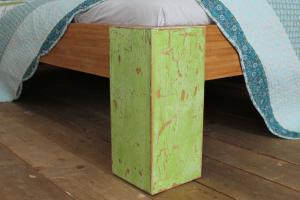 PALAU Bambusbett mit Rückenlehne Hainan 200x200cm