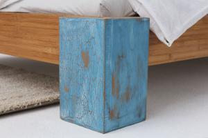 ARUBA Bambusbett ohne Rückenlehne 140x200cm
