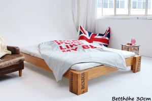 OPUS Bambusbett ohne Rückenlehne 90x200cm