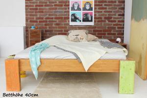 HAWAII Bambusbett ohne Rückenlehne 180x220cm