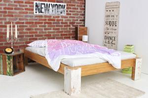 TIBET Bambusbett ohne Rückenlehne 160x220cm
