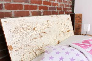 TIBET Bambusbett mit Rückenlehne Hainan 160x220cm