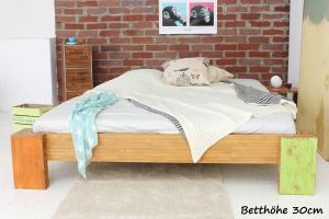 HAWAII Bambusbett ohne Rückenlehne 90x220cm