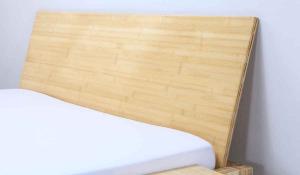 JAVA Bambusbett mit Rückenlehne Hainan 120x220cm