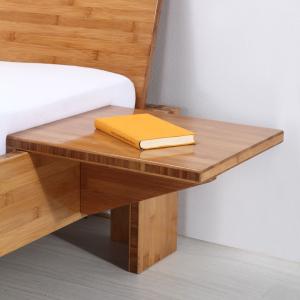 YIN Bambus Nachttisch braun passend zu Bett BALI, BURMA, HAVANNA, TIMOR uvm.!