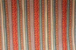 Tagesdecke Y2 Rot, Orient Barock, 180 x 220 cm, Vintage Plaid Quilt