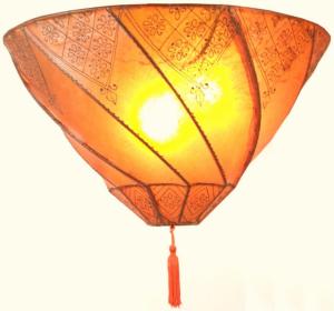 Deckenlampe Casablanca in verschiedenen Farben erhältlich