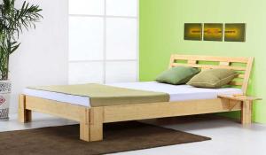 JAVA Bambusbett mit Rückenlehne Melaka 180x200cm