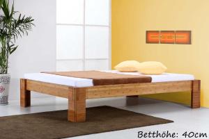 BALI Bambusbett ohne Rückenlehne 90x220cm
